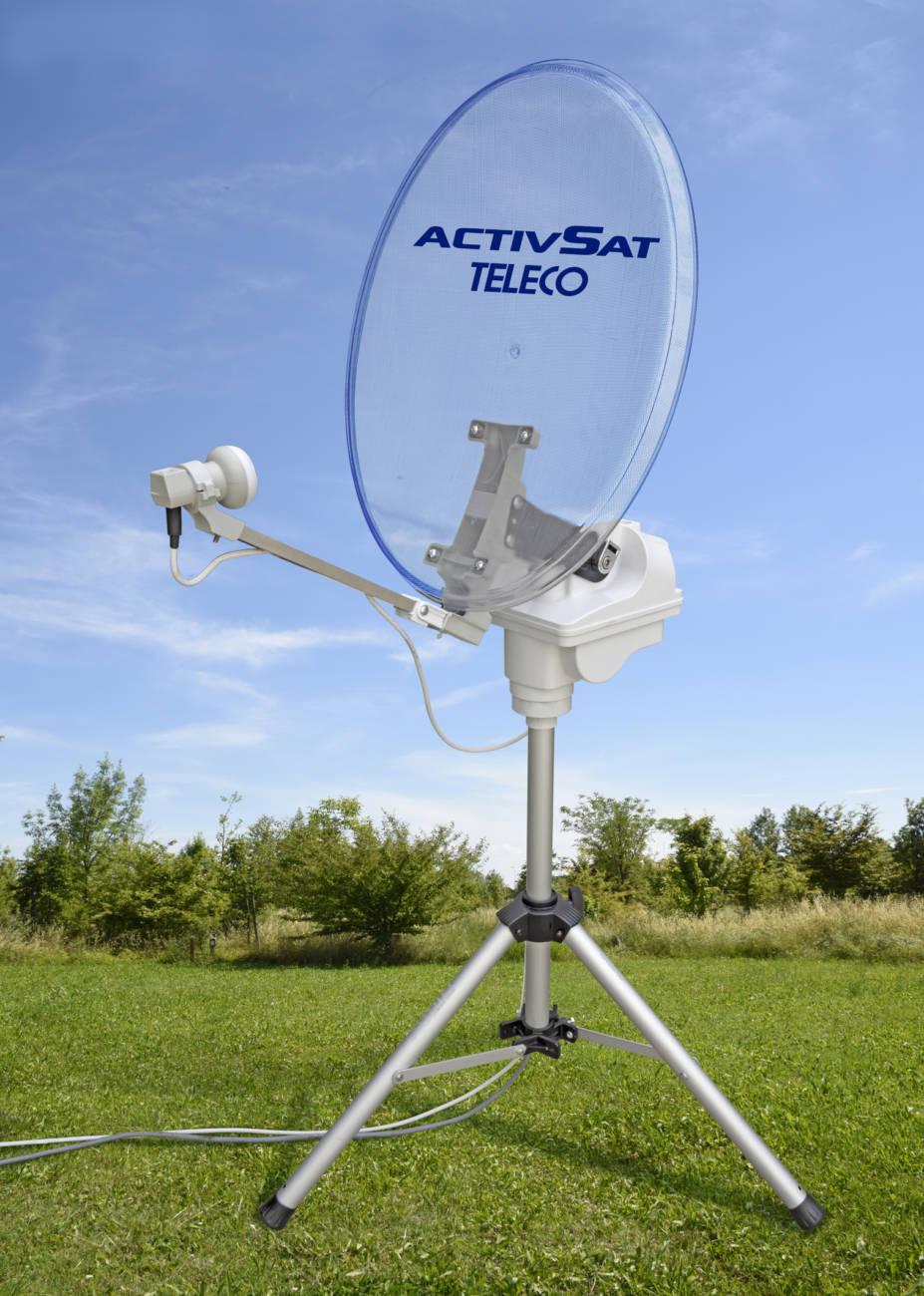 Nuevos sistemas de antena y navegaci n autocaravanas - Antena satelite interior ...