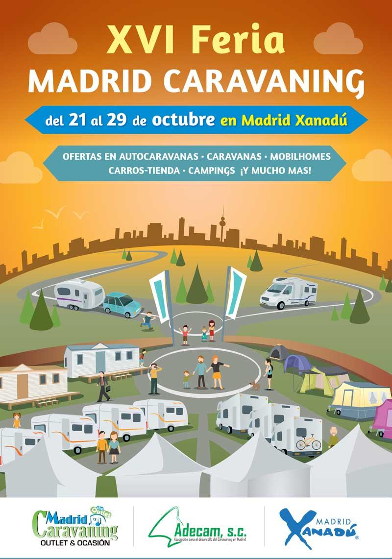 16 edici n de la feria madrid caravaning autocaravanas for Feria del mueble madrid 2017