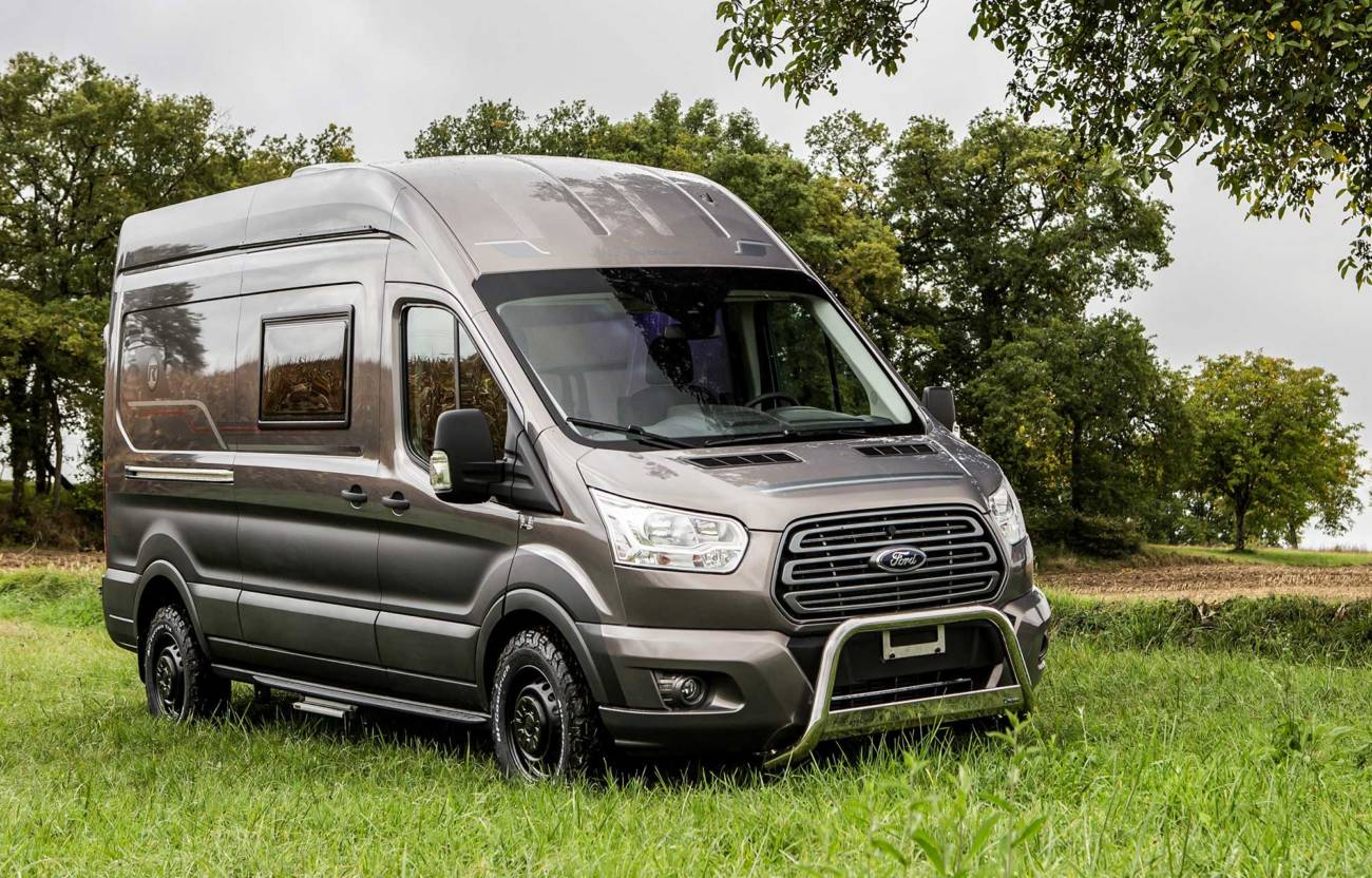 ford y trigano se unen para crear el primer camper 4x4 sobre transit autocaravanas. Black Bedroom Furniture Sets. Home Design Ideas