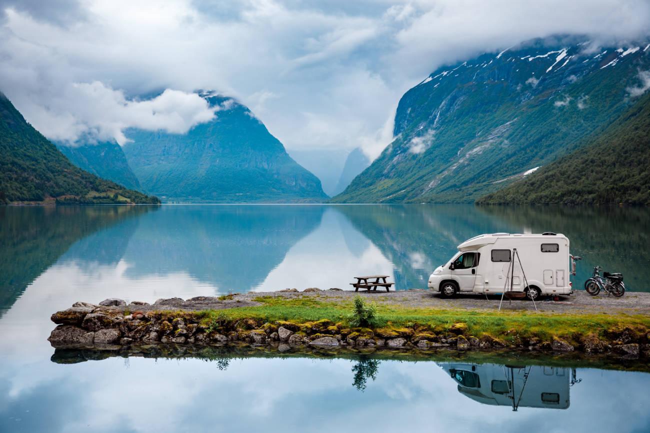 Fiordos Noruegos en autocaravana