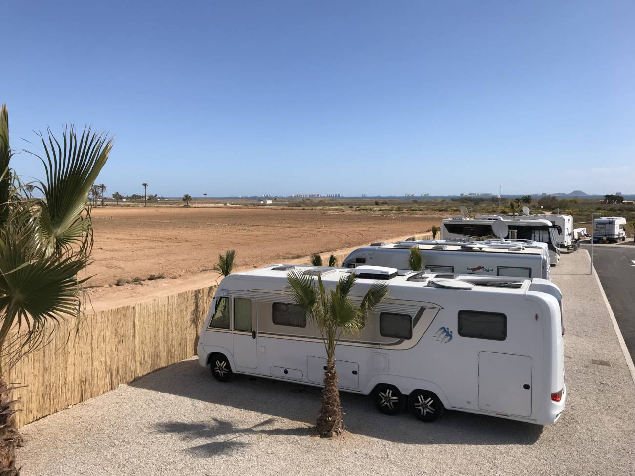 Conoce Gratis La Primera área De Autocaravanas Sostenible De Murcia Autocaravanas
