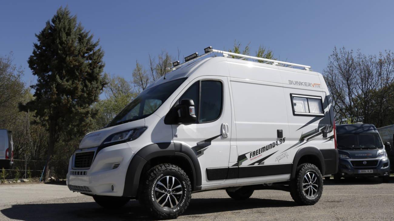 Campers 4x4 Un Vehículo Al Alza Autocaravanas