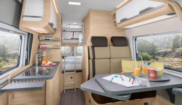 Knaus boxstar 600 solution interior